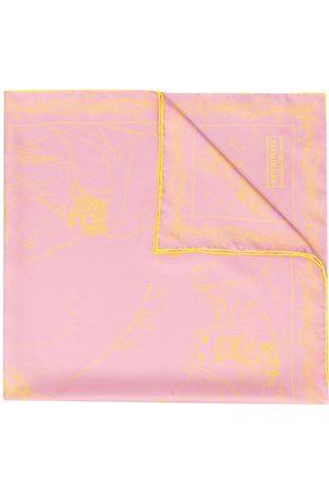 Emilio Pucci Scorci Fiorentini print scarf