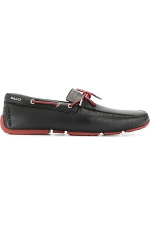 Bally Men Loafers - Contrast-bow loafers