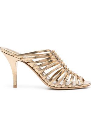 Salvatore Ferragamo Jessa 85mm braided sandals