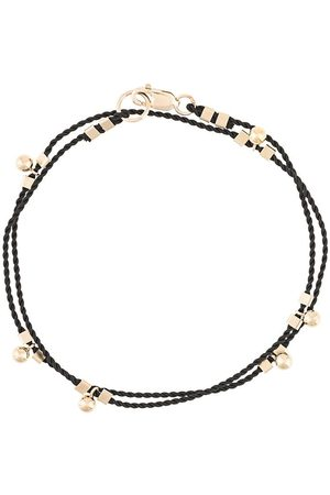 Petite Grand Women Bracelets - Wrap cord ball drop bracelet
