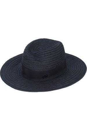 Le Mont St Michel Women Hats - Logo plaque panama hat