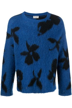 Saint Laurent Floral-print jumper