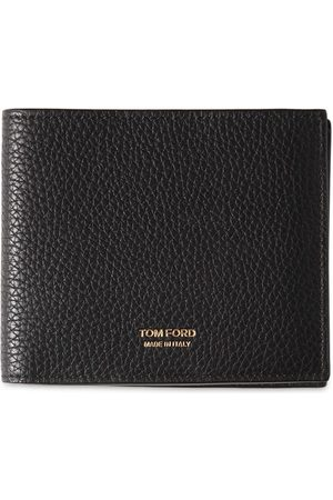 Tom Ford Men Wallets - T Line Classic Leather Bifold Wallet