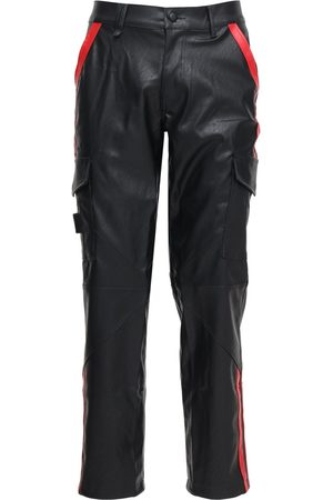 UNKNOWN Faux Leather Cargo Pants