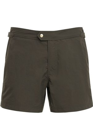 Tom Ford Nylon Faille Classic Swim Shorts