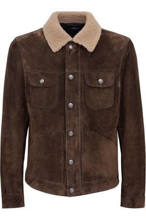 Tom Ford Suede Trucker Jacket