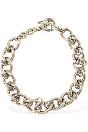 Bottega Veneta Chunky Chain Short Necklace