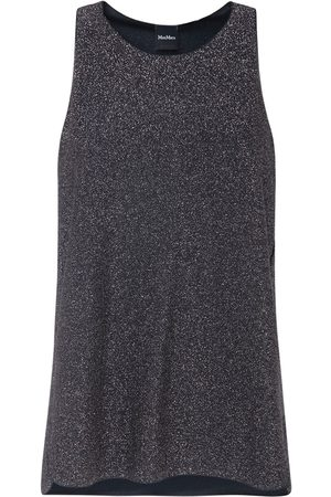 Max Mara Sleeveless Lurex Jersey Top