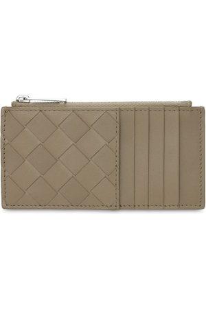 Bottega Veneta Intrecciato Leather Card Holder