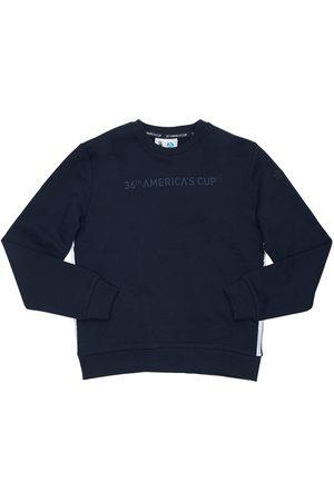 North Sails Boys Sweatshirts - Logo Print Cotton Sweatshirt