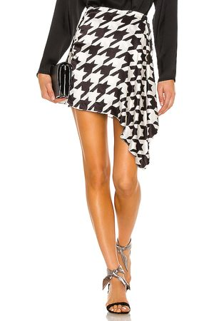 Sau Lee Barbara Skirt in Black,White.