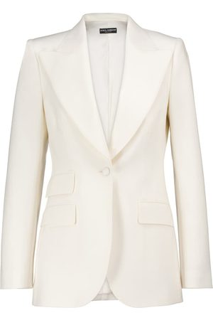 Dolce & Gabbana Stretch wool-blend natté blazer