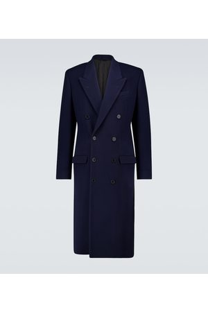 Balenciaga Double-breasted wool-blend coat
