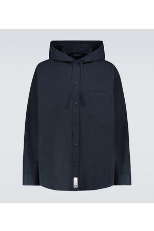 Balenciaga Hooded cocoon overshirt