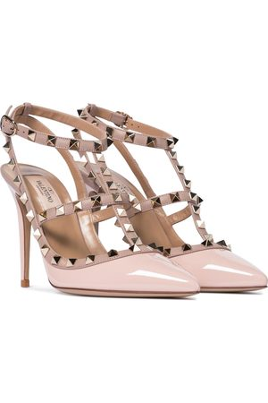VALENTINO GARAVANI Rockstud patent leather pumps