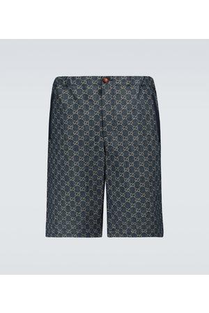 Gucci GG denim shorts