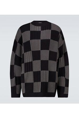 Balenciaga Checked crewneck sweater