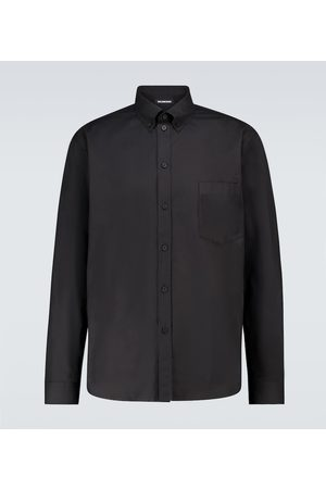 Balenciaga Long-sleeved cotton shirt