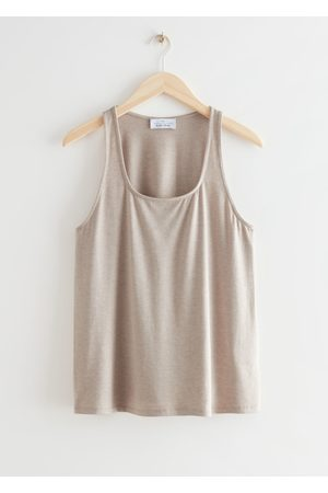 & OTHER STORIES Square Neck Tank Top