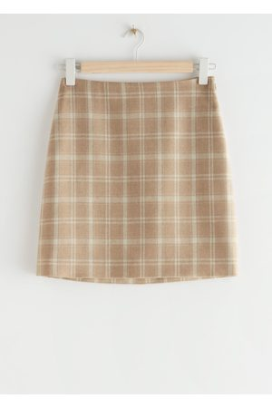 & OTHER STORIES Houndstooth Mini Skirt