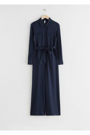 & OTHER STORIES Relaxed Belted Jumpsuit