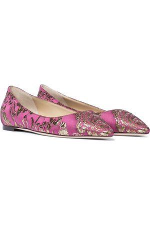 Jimmy Choo Exclusive to Mytheresa – Romy brocade ballet flats