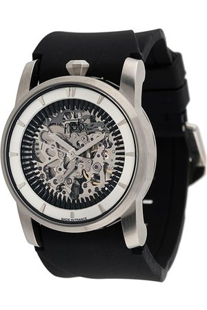 FOB PARIS Men Watches - R413 Silver Skeleton