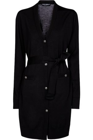 Dolce & Gabbana Belted virgin wool cardigan