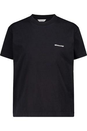 Balenciaga Embroidered cotton T-shirt