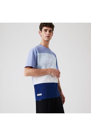 Lacoste Men's Relaxed Fit Colorblock Lightweight Cotton-piqué T-shirt : / / /