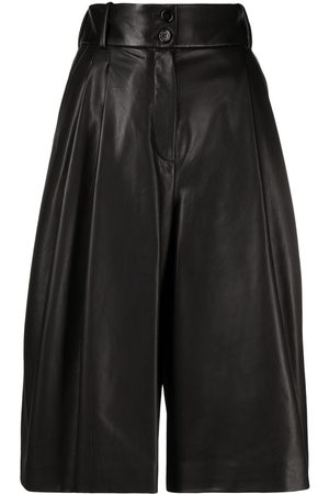 Dolce & Gabbana Pleated high-waisted culottes
