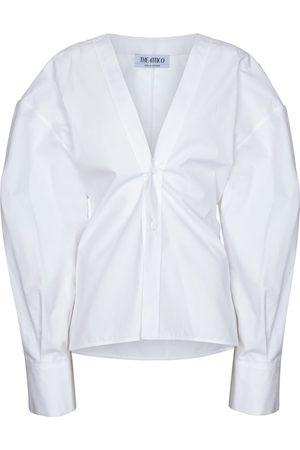 The Attico Cotton-poplin shirt