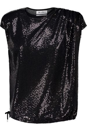 The Attico Sequined top