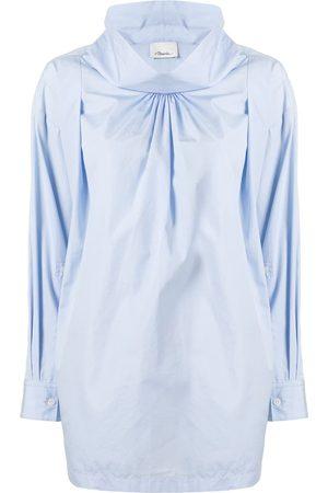 3.1 Phillip Lim Draped high-neck blouse