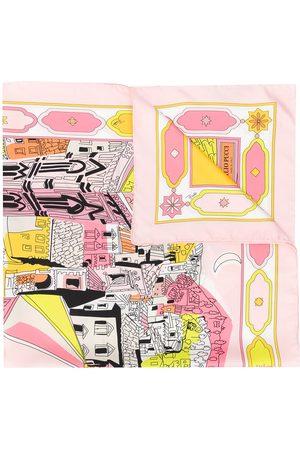 Emilio Pucci Battistero print scarf