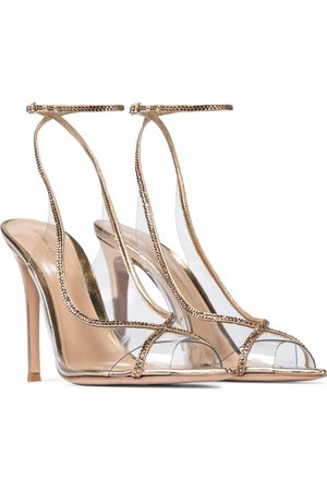 Gianvito Rossi Exclusive to Mytheresa – Crystelle embellished PVC sandals