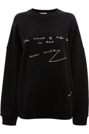 J.W.Anderson Slogan print sweatshirt