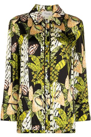 TEMPERLEY LONDON Elpis harmony print pyjama shirt
