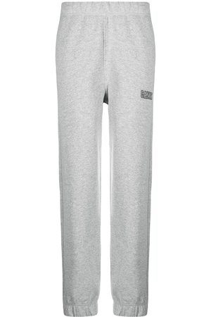 Ganni Software Isoli tapered track pants - Grey