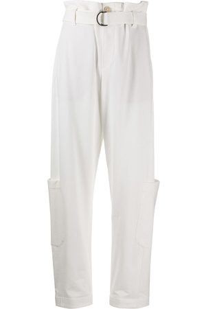 Brunello Cucinelli Belted loose-fit trousers