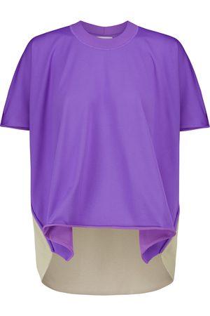 Bottega Veneta Color-block jersey T-shirt