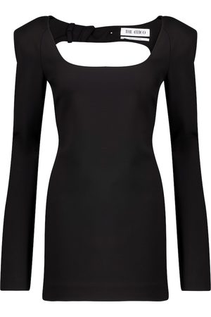 The Attico Liz cutout stretch-jersey minidress