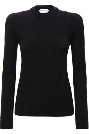 Bottega Veneta Women Sweaters - Tech Crewneck Knit Sweater