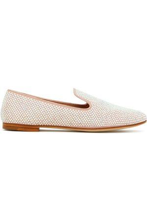 Giuseppe Zanotti Lindy crystal embellished loafers