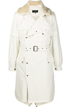 Mr & Mrs Italy X Nick Wooster belted trench coat - Neutrals