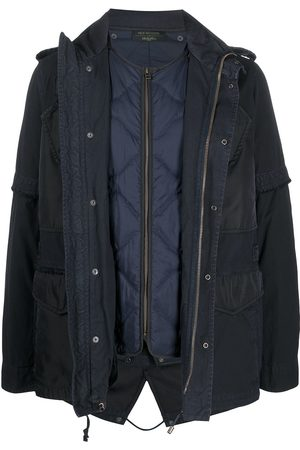 Mr & Mrs Italy X Nick Wooster layered padded jacket