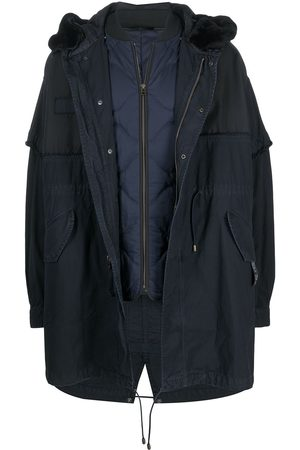 Mr & Mrs Italy X Nick Wooster detachable quilted parka