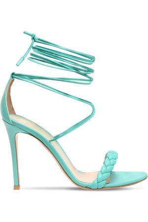 Gianvito Rossi Women Sandals - 105mm Leomi Leather Sandals