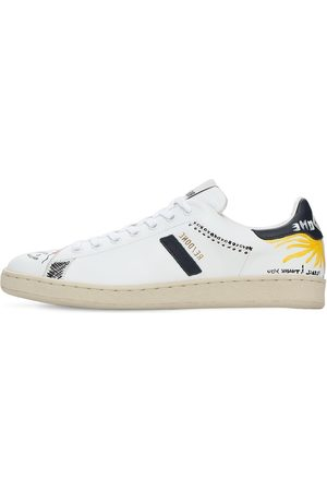 RE/DONE Women Sneakers - 70s Leather Tennis Shoes