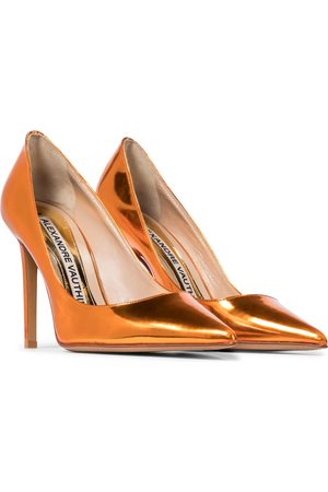 ALEXANDRE VAUTHIER Exclusive to Mytheresa – Nadine metallic leather pumps